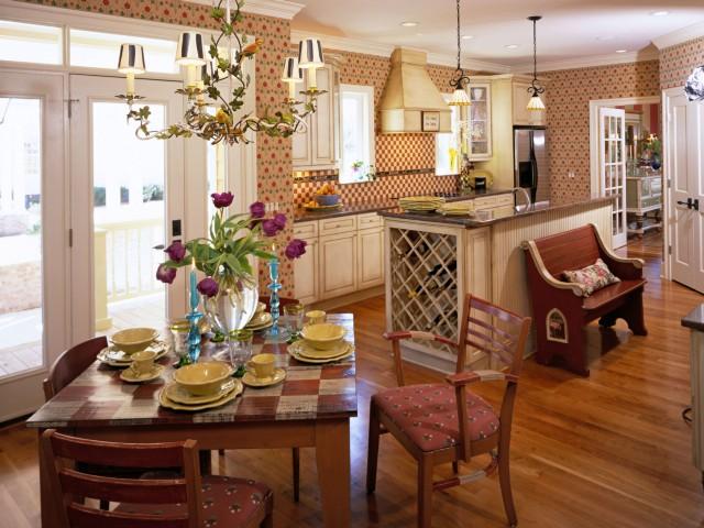 Стиль канти в квартире на кухне