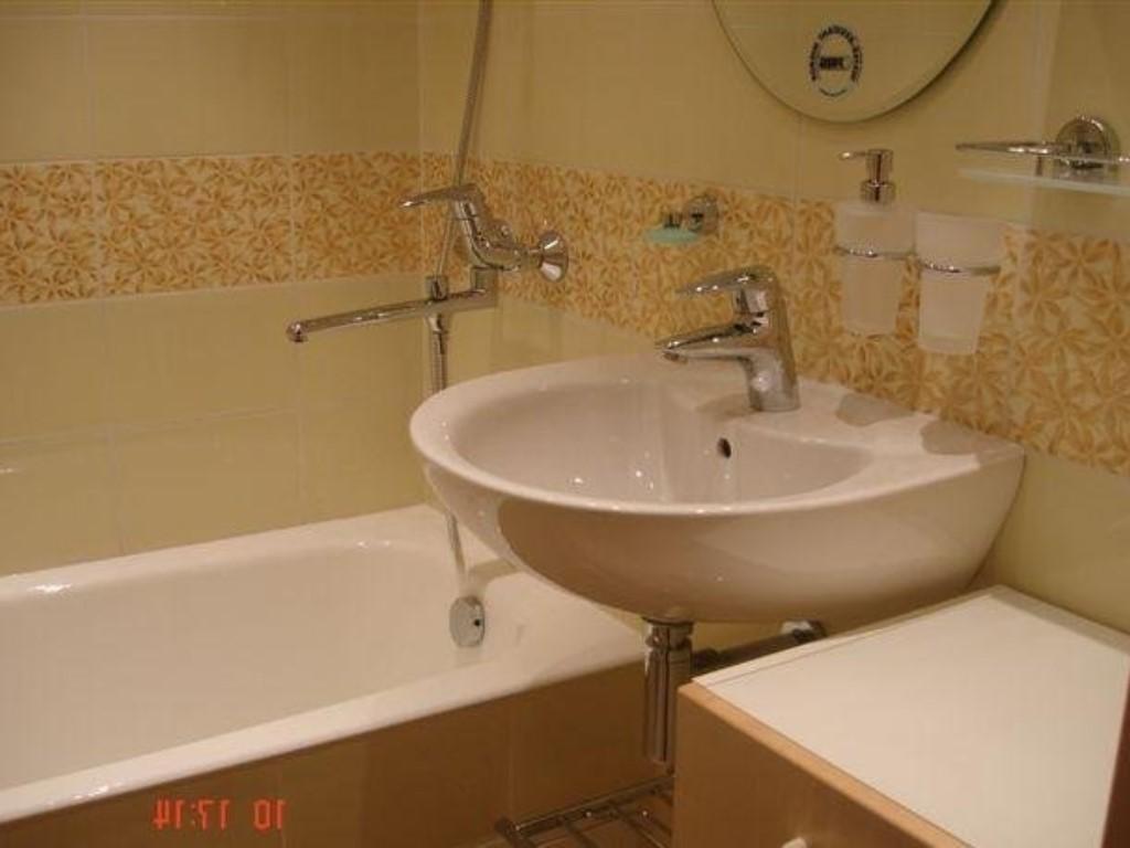 Дизайн малогабаритных ванных комнат