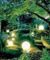 Значение освещения в дизайне ландшафта