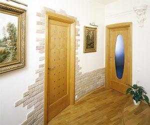 Отделка дверных проемов