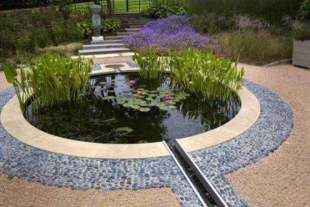 Освещение и вода как элементы ландшафтного дизайна