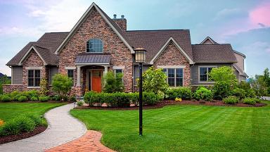 Ландшафтный дизайн в загородных домах