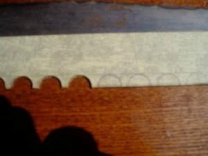Изготовление пластины этап 3