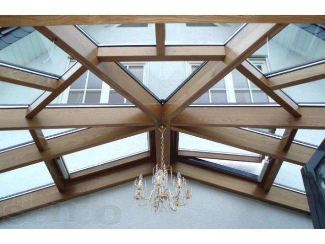 Фигурная стеклопрозрачная крыша