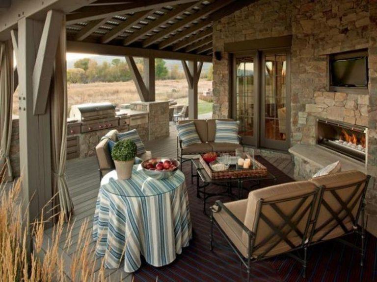 Обустройство летней кухни на даче
