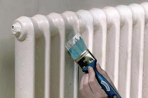 Покраска батарей (радиаторов) отопления своими руками