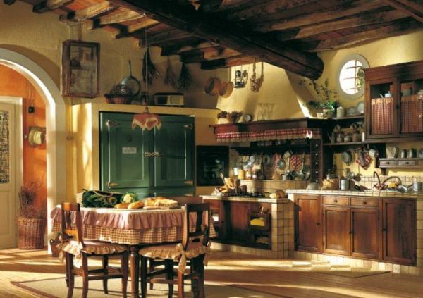 Деревенская кухня прованс