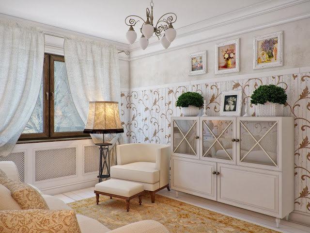 Красота и романтизм прованса в дизайне интерьера