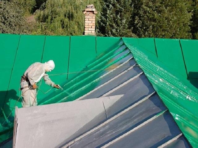Что такое резиновые краски для крыши?
