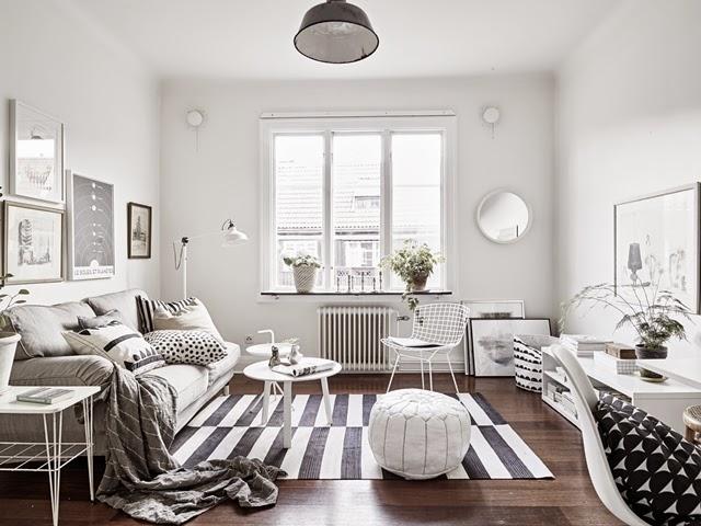 Скандинавский стиль в интерьере дома