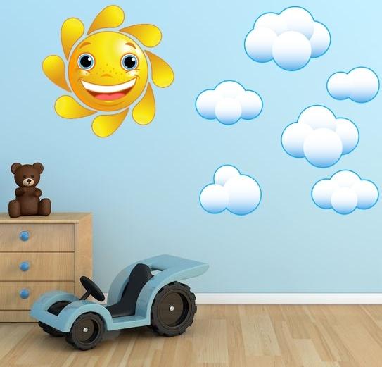 Солнышко в детской комнате