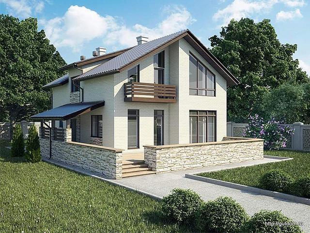 Газоблочный дом
