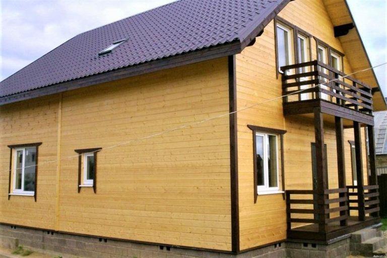 Нюансы деревянного фасада