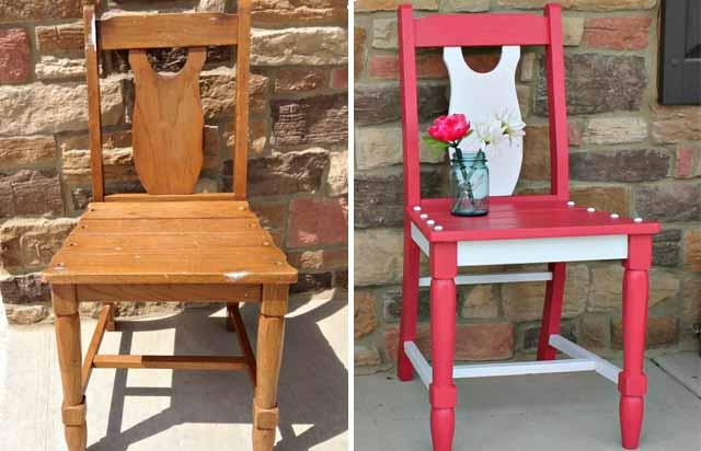 Обновление дачной мебели