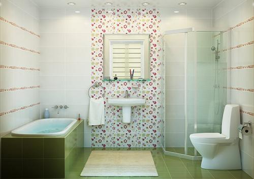 Расширить пространство ванной позволит ее объединение с туалетом и, если есть возможность, кладовкой.