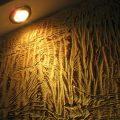 Способ декоративной отделки стен
