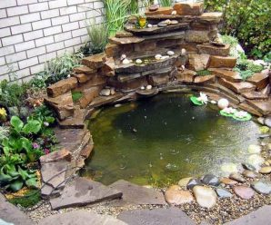 Декоративный пруд на даче: просто и красиво