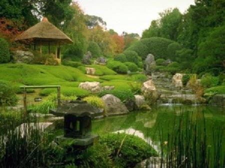 Японский сад: все на своем месте, но в то же время имитация дикой природы