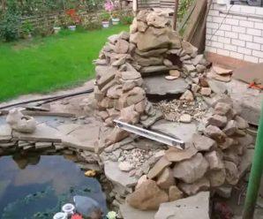 Как сделать водопад на дачном, садовом или приусадебном участке