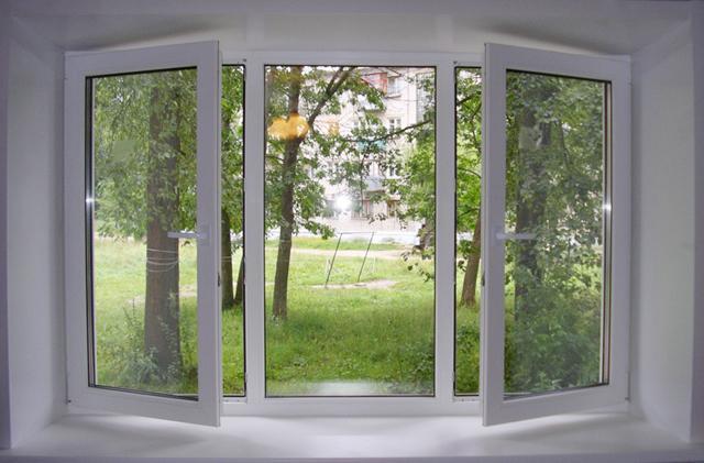 Пластиковые окна взамен деревянным