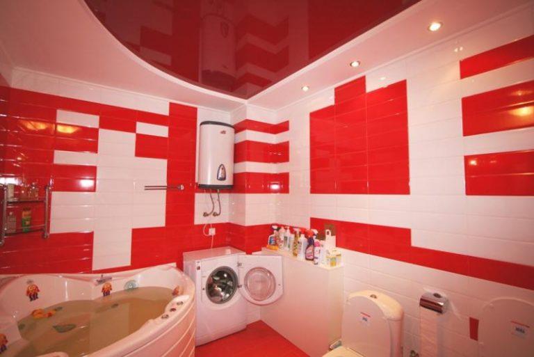 Простой и удобный способ оформления ванной комнаты