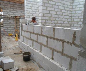 Порядок выполнения работ по строительству домов из пеноблоков