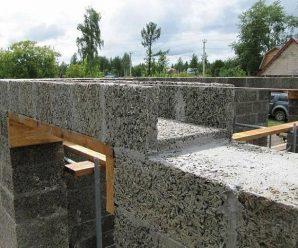 Особенности строительства дома из арболита