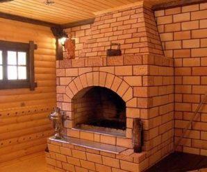 Как построить камин на даче