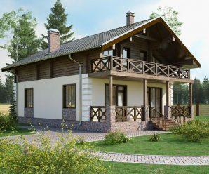Что такое комбинированный дом. Характеристики. Преимущества. Этапы планировки