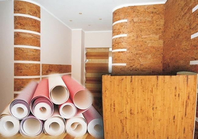 Синтетические материалы для отделки стен