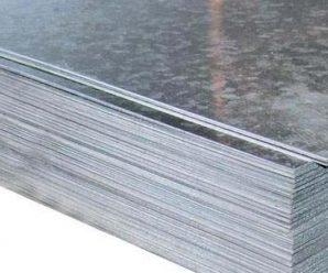 Оцинкованный плоский лист — достоинства и недостатки строительного материала, характеристики.