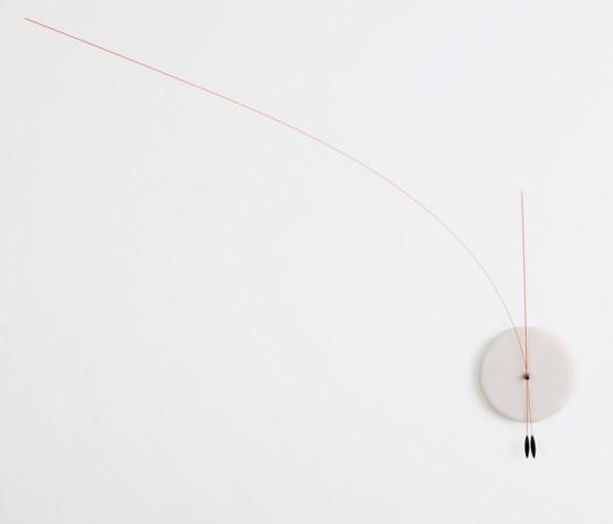 Lithe Clock гибкий минимализм