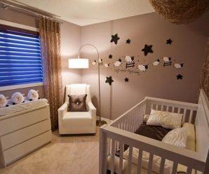 Интерьеры детских комнат для новорожденных
