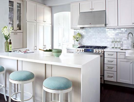 Кухня в белом цвете. Фото до и после ремонта