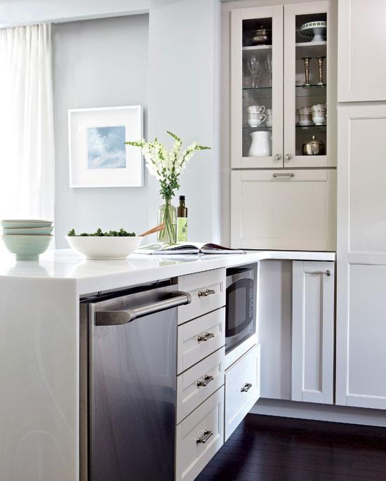 Искрящаяся кухня. До и после