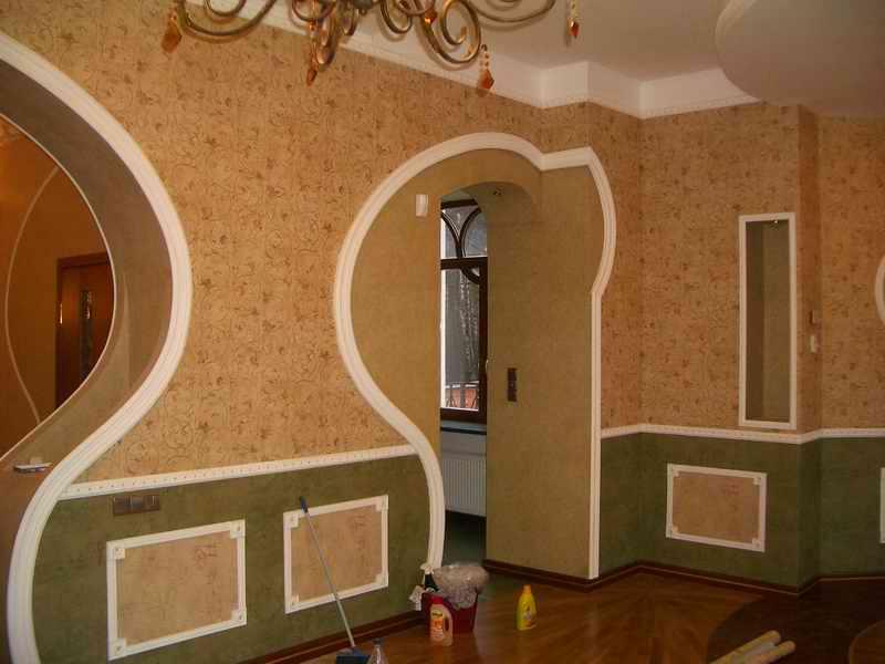 Внутренняя отделка стен и методы декорирования