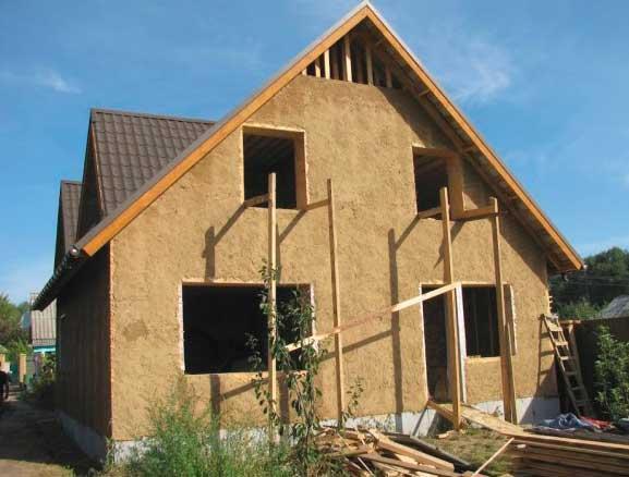Преимущества постройки глинобитного дома