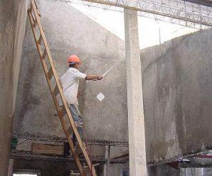 Твердение бетона после заливки