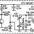 Радиомикрофон на частоту 433,92 МГц