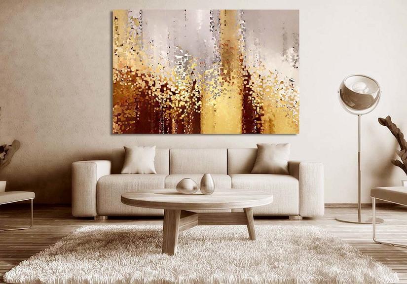 Применение мозаичного декоративного панно в интерьере