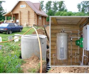 Водоснабжение и электропроводка в бане