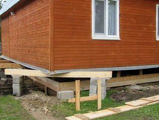 Можно ли заменить фундамент дома