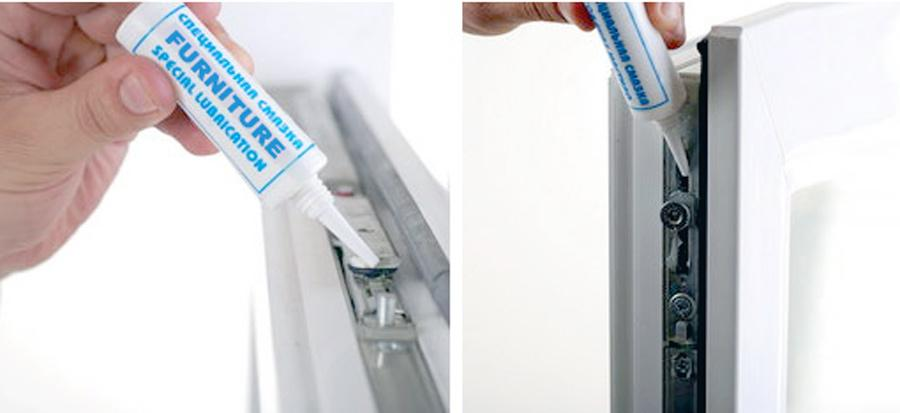 Уход за фурнитурой пластиковых окон